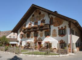 Zum Kirchenbauer, ski resort in Oberammergau