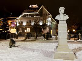 Vodoley Hotel, hotel in Gorokhovets