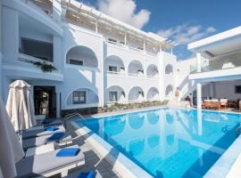 Blue Waves Suites & Apartments, hotell sihtkohas Kamari