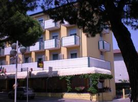 Hotel Portofino, hotel poblíž významného místa Caorleský dóm, Caorle