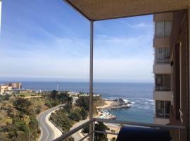 Departamento vista al mar, apartamento en Valparaíso