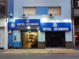 Hotel Richmond, hotel near Municipal Palace, Montevideo