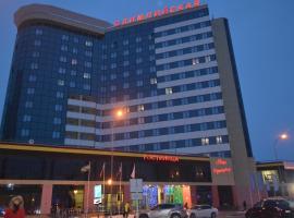 Hotel Olimpiyskaya, отель в Ханты-Мансийске