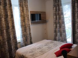 Hotel Restaurant Du Haut Du Roc, hôtel à Basse-sur-le-Rupt