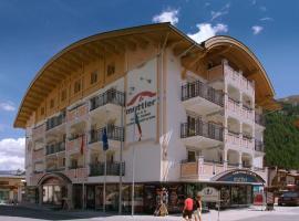 Hotel Garni Muttler Alpinresort & Spa, hotel in Samnaun