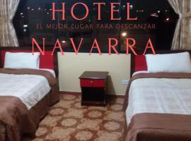 Hotel Navarra, hotel em Riobamba
