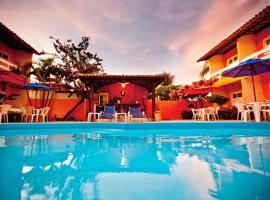 Capitães de Areia Pousada, beach hotel in Praia do Frances