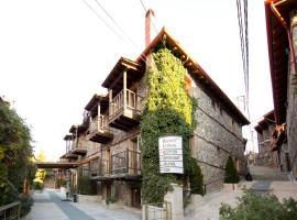 Lithos Hotel & Spa, hotel near Loutra Pozar, Palaios Agios Athanasios