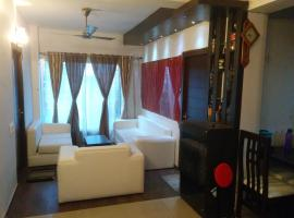 Contemporary 3BHK Apartment next to Acropolis Mall near Ruby, self catering accommodation in Kolkata