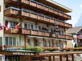 Hotel Hirschen - Grindelwald, hotel in Grindelwald