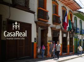 Hospedaje Casa Real, hotel in Salamina