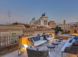 Otivm Hotel, luxury hotel in Rome