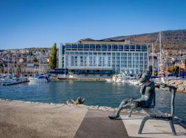 Best Western Premier Hotel Beaulac, hotel in Neuchâtel