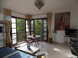 Appart avec vue Jardin/Majorelle, appartement à Marrakech