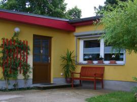 Ferienwohnung mit Garten, δωμάτιο σε οικογενειακή κατοικία στο Βερολίνο