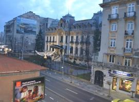 """Victoria Plaza Two Bdr Apt, hotel near National Museum of Natural History """"Grigore Antipa"""", Bucharest"""