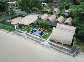 Krisna Bungalows and Restaurant, beach hotel in Sekotong