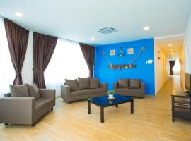 Hard Rock VIP Guest House, Hotel in Mersing