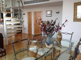 EXCEL EX.CTR.2 BED WATERFRONT PENTHOUSE, hotel near ExCeL Exhibition Centre, London