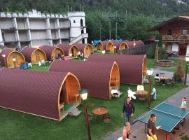 Inn-side Adventure Cabins, campground in Haiming
