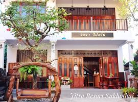 Jitra Resort, hotel in Sukhothai
