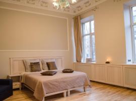 City Inn Riga Apartment, Barons promenade with parking, puhkemajutus Riias