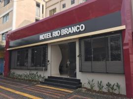 Hotel Rio Branco, hotel in Goiânia