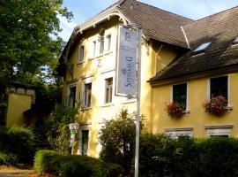Hotel Steinkrug, отель в городе Веннигзен