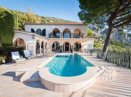 Villa Philae, pet-friendly hotel in Menton