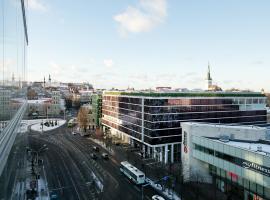 Viru Väljak Lux Apartment, apartamento en Tallin