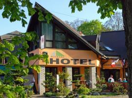 Hotel Bohemia, отель во Франтишкови-Лазне