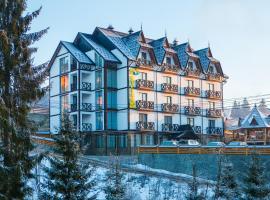 Hotel Pid Strihoju, hotel in Bukovel