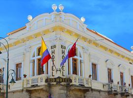 Rio Hotel, hotel in Riobamba