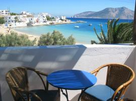 Aegeon Hotel, accessible hotel in Koufonisia