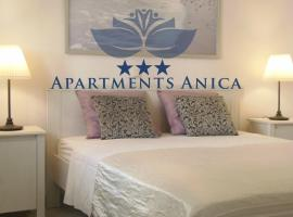 Apartments Anica, beach hotel in Makarska