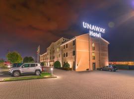 Unaway Hotel Occhiobello, hotel in Ferrara