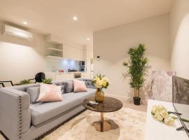 Dzīvoklis Eporo Tower 1 Bedroom Modern Apartment Central CBD Melburnā