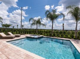 Luxury Dreams Disney Home with Private Pool and Spa, hotel in Orlando