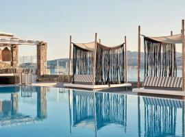 Mykonos No5 Luxury Suites & Villas, hotel in Ornos