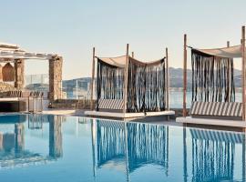 Mykonos No5 Luxury Suites & Villas, luxury hotel in Ornos