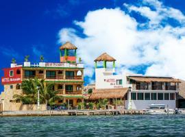 Hotel Villa de Pescadores, hotel in Río Lagartos