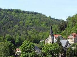 Ferienwohnung Villa AusZeit, Hotel in der Nähe von: Festung Königstein, Königstein (Sächsische Schweiz)