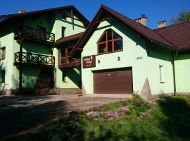 Leniwy Motyl – hotel w pobliżu miejsca Wyciąg narciarski Białasówka w mieście Rajcza