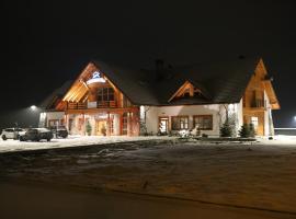 Dwór Kukuczka – hotel w pobliżu miejsca Wyciąg narciarski Mały Rachowiec w Istebnej