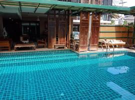 Baan Tanwa - MRT Ratchadapisek, serviced apartment in Bangkok