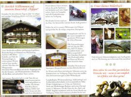 Örglgut, Hotel in Werfenweng
