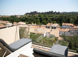 Les Suites du Saint Nazaire - Les Balcons de la Cité, hotel in Carcassonne