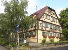 Hotel Schwarzes Ross, hotel in Rothenburg ob der Tauber