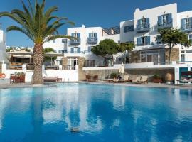 Poseidon Hotel Suites, budget hotel in Mikonos