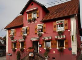 Hotel Restaurant A l'Ange, hôtel à Climbach